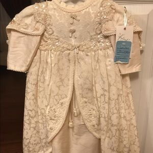 cc6b72b35 Other - VINTAGE NEW CHRISTENING DRESS FOR INFANT
